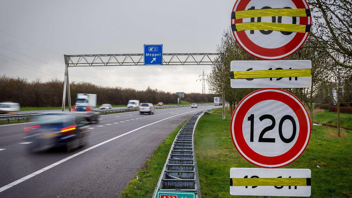 Niederlande führen Tempo 100 ein