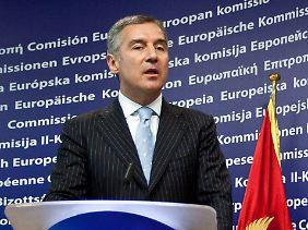Milo Djukanovic, Premierminister Montenegros (Archivbild).