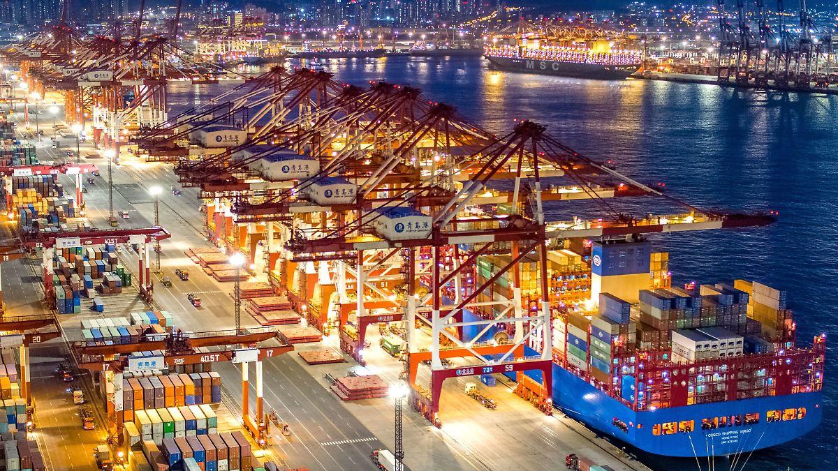 Chinas Exporte legen trotz Corona-Krise zu
