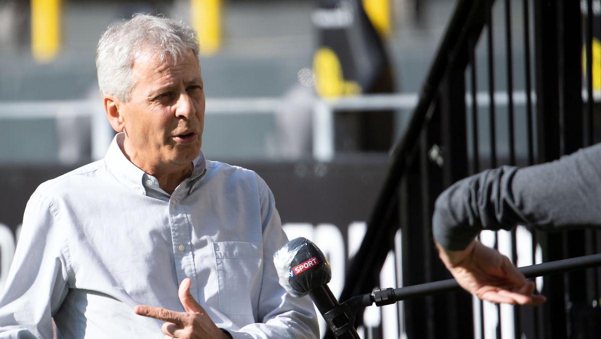 Lucien Favre deutet Abgang beim BVB an