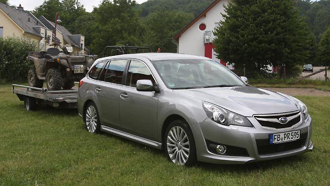Ist dem Allradprnzipg stets treu geblieben: Der Legacy von Subaru ist einer der Bestseller hierzulande. Freilich fristet er damit immer noch ein Nischendasein.