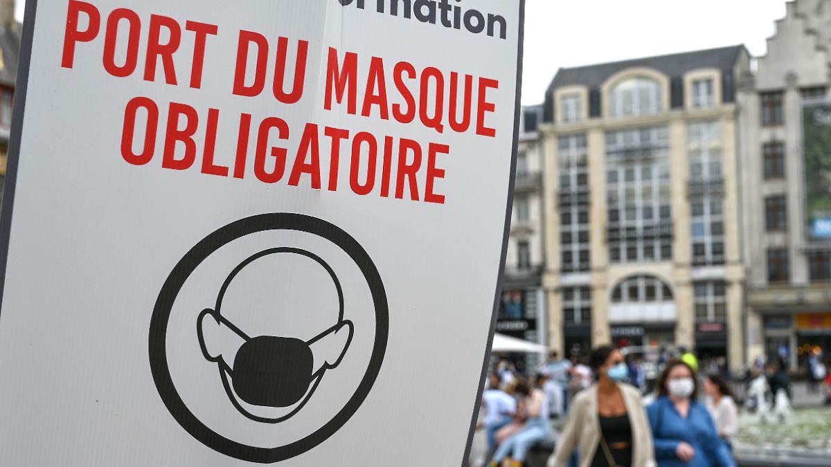 Europas Städte setzen auf Maske im Freien