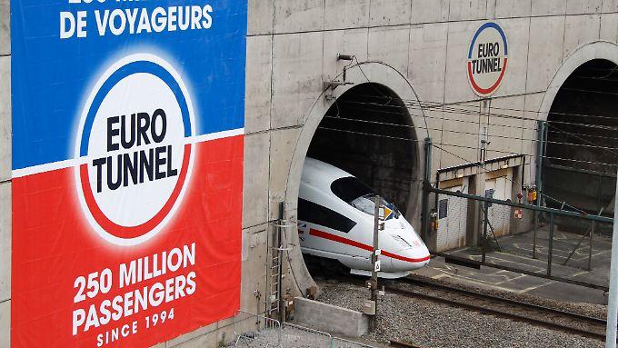 Bahn frei für den Eurotunnel.