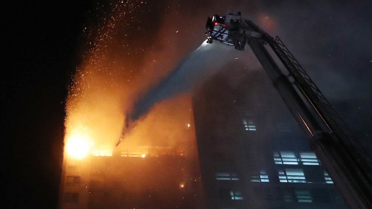 Feuer in Millionenstadt: 88 Verletzte bei Hochhausbrand in Südkorea