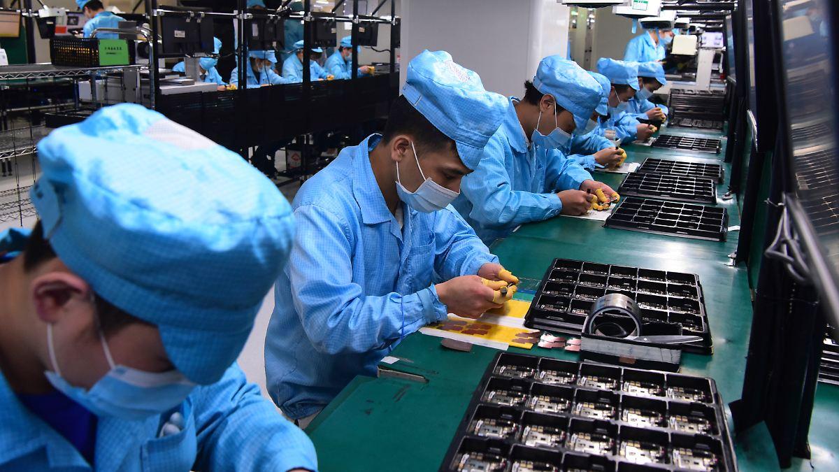 Peking steckt in der Chip-Falle