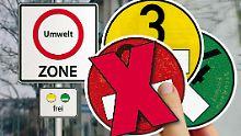 Rote Karte für rote Plakette: Weitere vier Umweltzonen