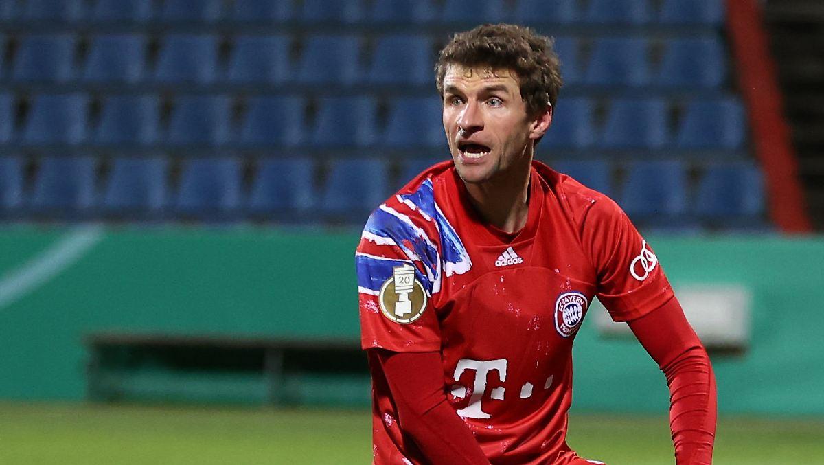 Nach Frust-Interview: Thomas Müller geht auf ARD-Reporterin zu