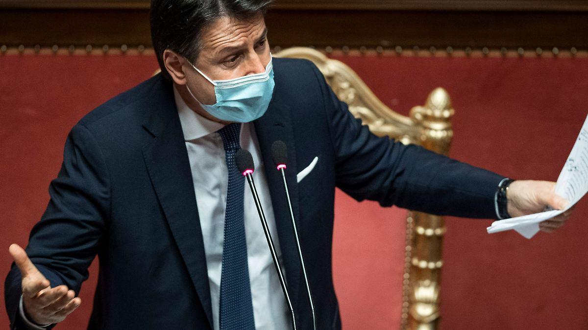 Italiens Premier Conte steht vor Rücktritt