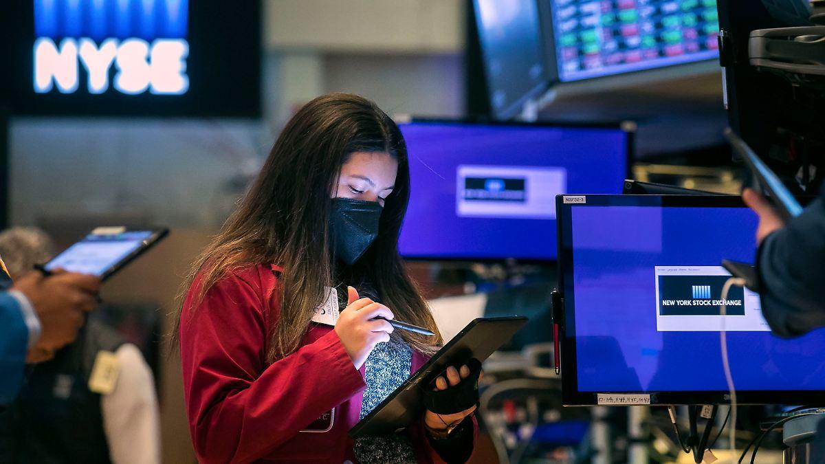 Starke Firmenbilanzen helfen:Wall Street jagt weiter Kursrekorde - n-tv NACHRICHTEN