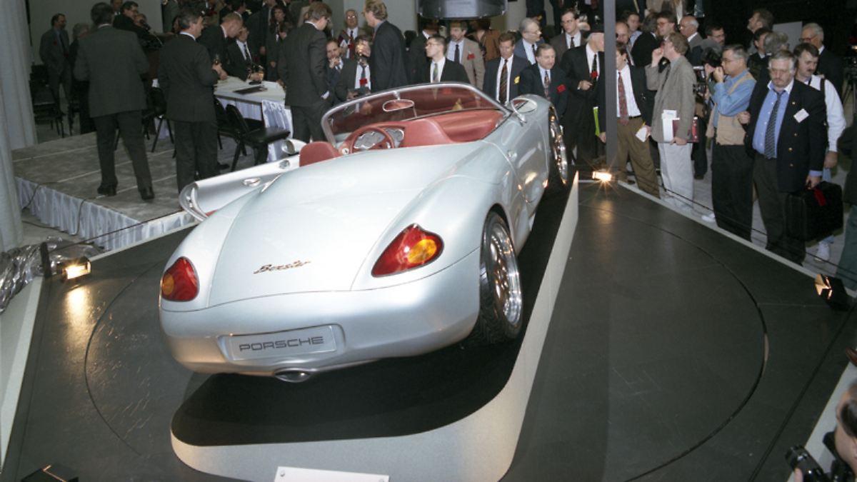 Rettende Idee vor 25 Jahren:Mit dem Boxster erfand sich Porsche neu - n-tv NACHRICHTEN