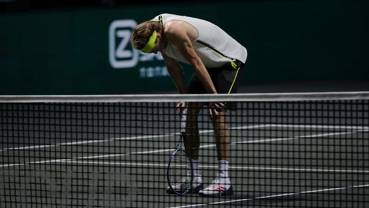 Tennis-Stars erleben ganz düsteren Tag