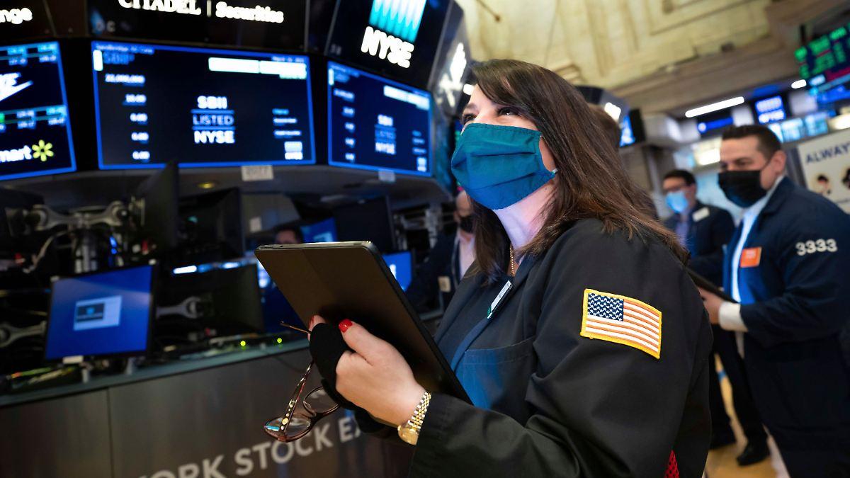 Rekordjagd an der Wall Street:Dow-Jones-Index steigt auf neues Allzeithoch - n-tv NACHRICHTEN
