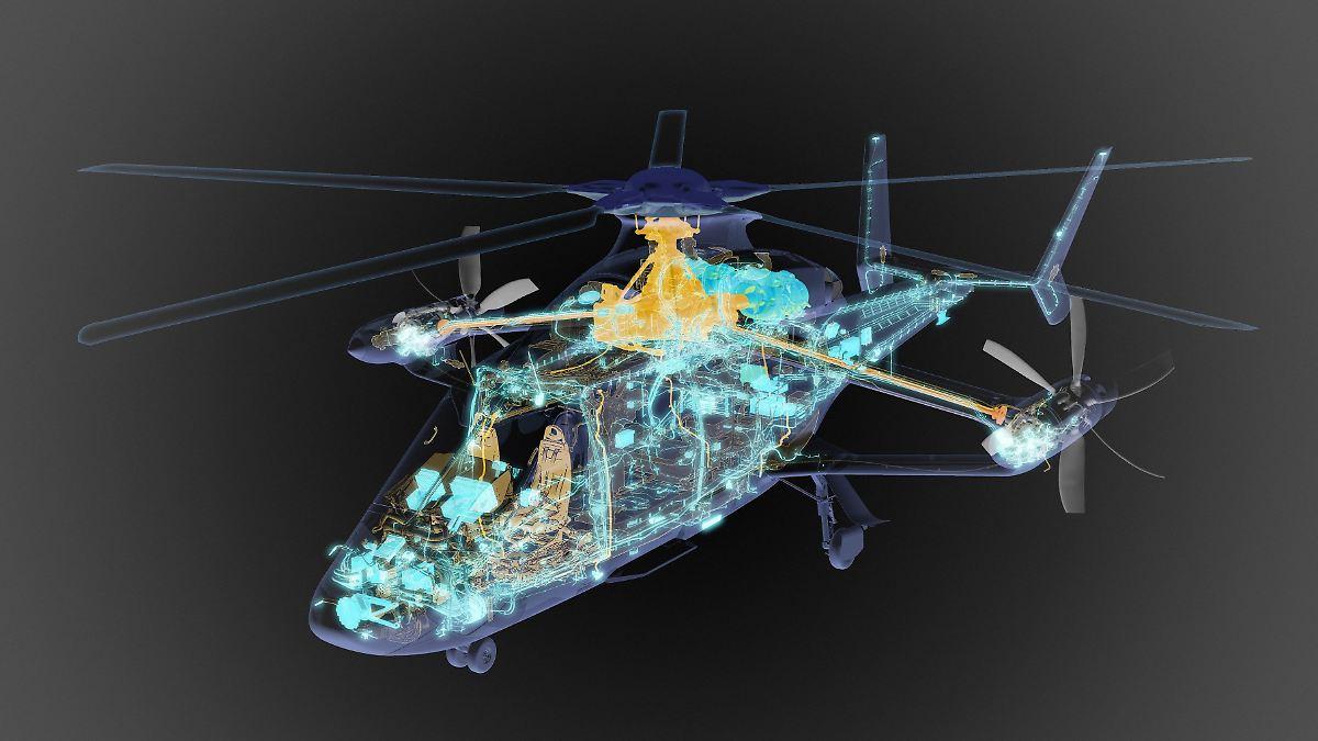 Bis zu 400 km/h anvisiert:Airbus' neuer Helikopter hebt erst 2022 ab - n-tv NACHRICHTEN