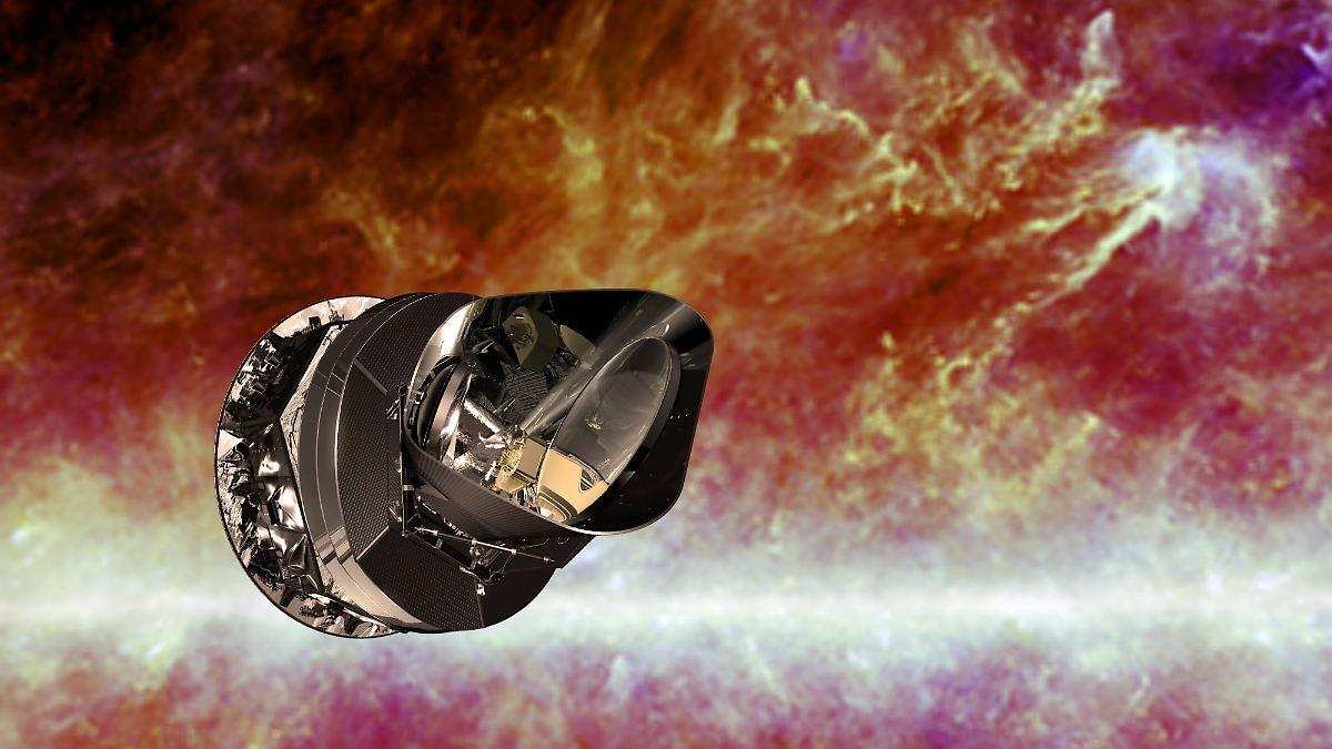 Αποτέλεσμα εικόνας για planck satellite