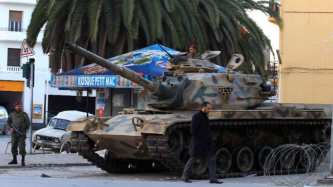 Noch immer Ausnahmezustand in Tunesien: Wut auf Ben Ali kennt keine Grenzen