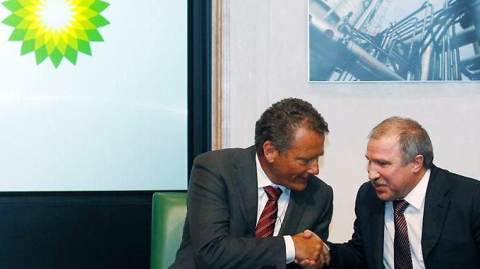 Gefährlicher Milliardendeal: BP verbrüdert sich mit Russen