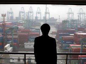 Wirtschaftsmacht: Was die Exporte angeht, ist China bereits jetzt weltweit die Nummer eins.
