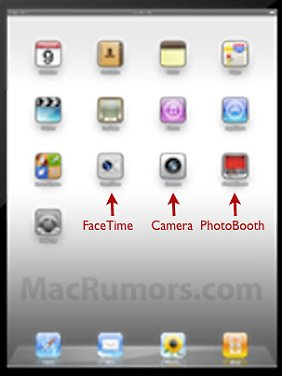 """""""MacRumors"""" hat in IOS 4.3 Beta einen iPad-Screenshot entdeckt."""