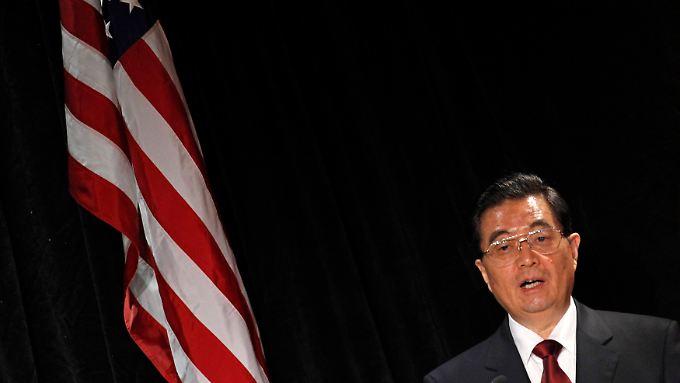 Neue Supermacht: Chinas Präsident tritt äußerst selbstbewusst bei seiner USA-Reise auf.