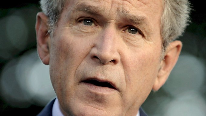 Wie kam es zur Finanzkrise?: Ex-US-Präsident Bush trägt Mitschuld