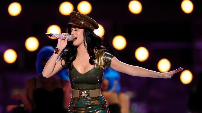 """""""Teenage Dream"""" für die Banker an der Wall Street: Auch Katy Perry ist bei EMI unter Vertrag."""