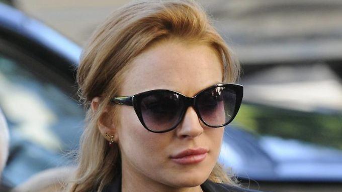 Macht sie jetzt auch noch Karriere als Langfinger? Lindsay Lohan.