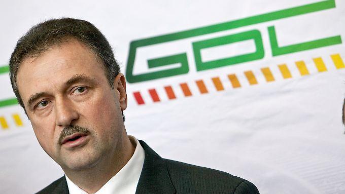 GDL-Chef Weselsky: Mögliche Arbeitsniederlegungen erst nach dem 16. Februar?