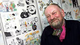 Umstritten: Kurt Westergaard löste bereits 2005 heftige Reaktionen aus mit seinen Zeichnungen.