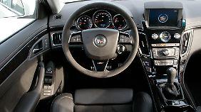 Familienrenner: Mit Handschaltung erreicht der CTS-V Wagon mehr als 300 km/h Spitze.