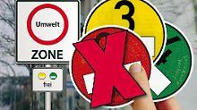 Für Autos mit einer roten Plakette sind immer mehr Städte tabu.