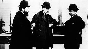 Die Brüder Renault: Marcel, Louis und Fernand.