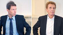 Michael Kempter und Manfred Amerell: Die Schlammschlacht geht weiter.