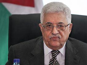 Abbas will sich im September zur Wahl stellen.