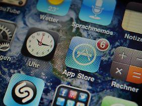 Gratis-Mentalität bei Smartphone-Nutzern: Die große Mehrheit der in Deutschland heruntergeladenen Apps ist kostenlos.