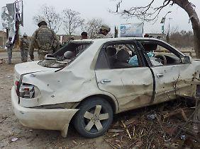 Auch im Osten Afghanistans kam es zu einem Anschlag.