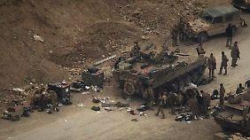 Am 18. Februar 2011 tötet ein afghanischer Soldat drei Bundeswehrsoldaten.