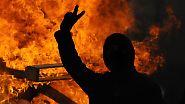 Krawalle begleiten friedliche Proteste: Dresdner verhindern Neonazi-Aufmarsch