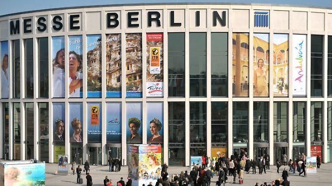 Treffpunkt der Globetrotter: Die Messe Berlin richtet im März zum 45. Mal die Internationale Tourismus-Börse ITB aus.