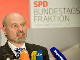 Rainer Arnold ist der verteidigungspolitische Sprecher der SPD im Bundestag.
