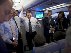 Westerwelle reiste als einer der ersten westlichen Politiker seit dem Sturz Mubaraks in das Land.