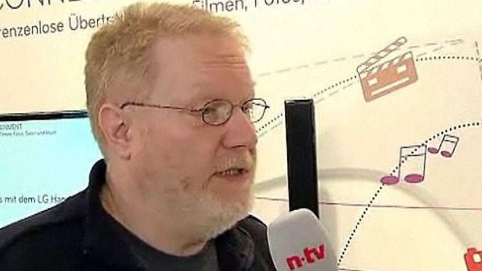 """Jürgen Kuri von der Cebit: """"Tablets, die besser als das iPad sind"""""""