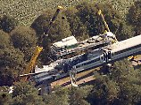 2006 war der Zug auf der Teststrecke im Emsland verunglückt.