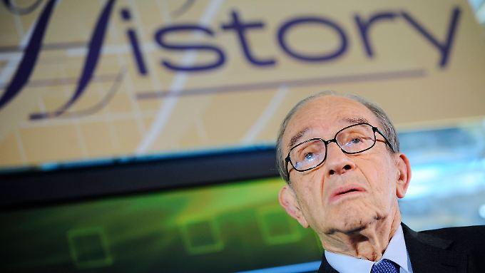 Ein Mann der Kontroversen und Rätsel: Alan Greenspan feiert 85. Geburtstag