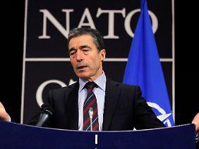 NATO-Generalsekretär Anders Fogh Rasmussen.