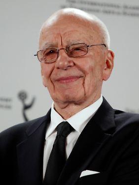 Der Jubilar: Rupert Murdoch wird 80 Jahre alt.