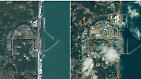 Vor und nach dem Erdbeben: Die Katastrophe in Satellitenbildern