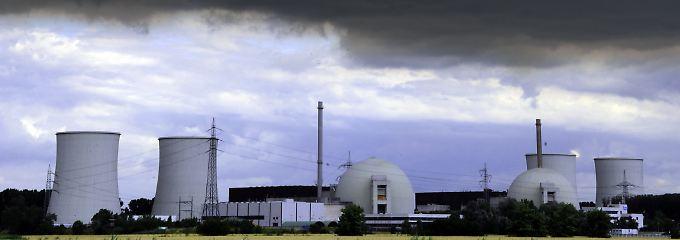 Das Atomkraftwerk Biblis.