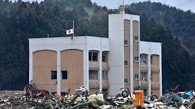 Minami Sanriku war durch das Erdbeben und den Tsunami im März 2011 stark zerstört worden.