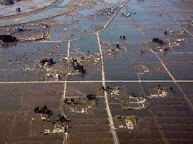 Die Präfektur Fukushima wurde von Erdbeben und Tsunami schwer getroffen.