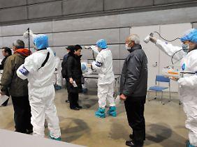Die Arbeiter in Fukushima sind extrem verstrahlt.